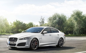 Picture Jaguar, sedan, XFR
