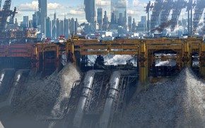 Picture pipe, design, construction, Ragequit test, Yellow city