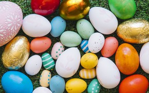 Picture eggs, Easter, Holiday, Orthodox holiday