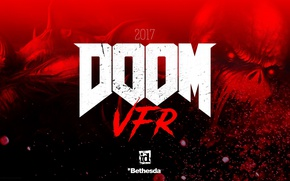 Picture demon, red, game, devil, evil, Doom, oni, bakemono, Doom VFR