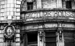Picture the building, photographer, magic b & W photo, Monochromatic, Mark Nelson