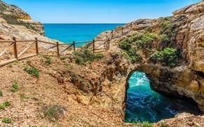 Picture nature, landscape, coast, beauty