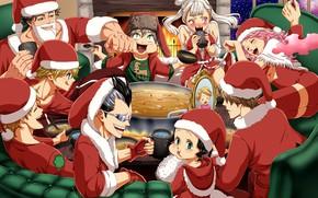 Picture anime, manga, mahou, japonese, Black Cover
