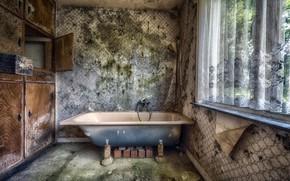 Picture background, window, bath