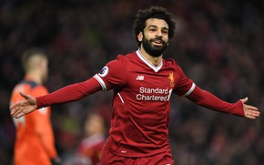 Picture wallpaper, sport, Egypt, stadium, football, Premier League, Liverpool FC, Anfield Road, LFC, Mohamed Salah, Wrong