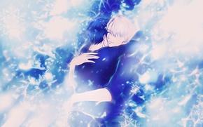 Picture anime, art, guys, Yuri on Ice, Yuri on the ice, Viktor Nikiforov, Yuri Katsuki