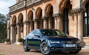 Picture Audi, Audi, Sportback, Metallic