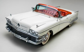 Picture Convertible, 1958, Luxury, Buick Limited
