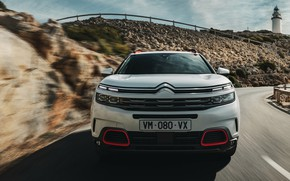 Picture front view, 2018, crossover, Aircross, Citroen C5