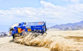 Picture Sand, Speed, Truck, Race, Master, Russia, Kamaz, Rally, Dakar, KAMAZ-master, Dakar, Rally, KAMAZ, The roads, …