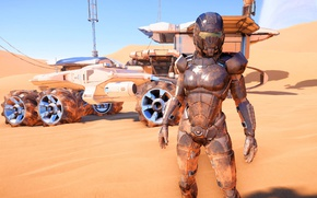 Picture planet, nomad, Mass Effect Andromeda, Pioneer
