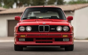 Picture Red, Coupe, Bmw, E30