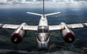 Wallpaper middle bomber, A-26B, Douglas, attack, American