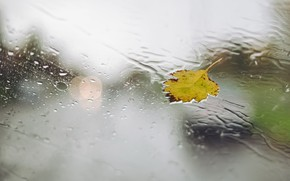 Picture glass, drops, sheet