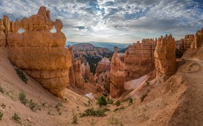 Picture rocks, gorge, Utah, USA, Bryce Canyon