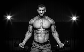 Wallpaper muscles, fitness, abs