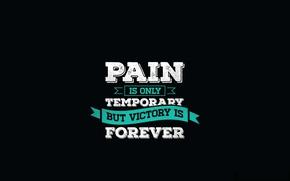 Picture pain, motivation, quote