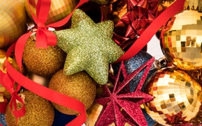 Picture balls, New Year, Christmas, merry christmas, decoration, xmas, holiday celebration
