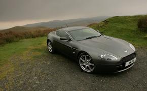 Picture landscape, Aston Martin, coupe, vantage