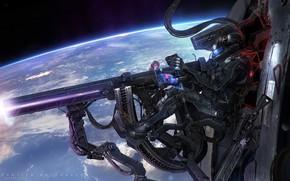 Picture planet, shooter, Frontier Buccaneers, Orbital Hunt