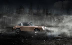 Picture background, porsche, classic cars