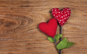 Picture love, heart, red, love, wood, flowers, romantic, hearts, valentine