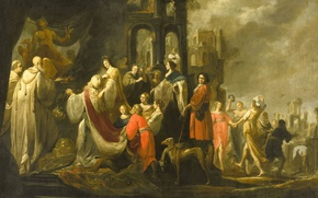 Picture picture, myth, Jacob Hogers, Idolatry Of King Solomon
