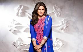 Picture girl, background, Indian, Parineeti Chopra