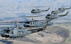 Picture Air Force, Bell, UH-1, Iroquois, helicopters