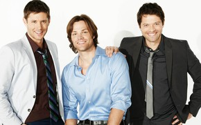 Picture actors, Dean, Supernatural, Supernatural, Cass, SEM