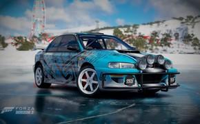 Picture Subaru, Ice, Horizon, STI, Subaru Impreza, Amusement, Forza, Rays, Rays Wheels, Turn 10 Studios, Forza …