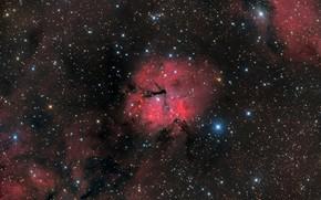 Picture space, Emission nebula, GUM 15