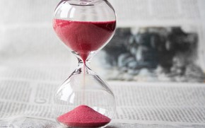 Picture glass, photography, sand, bokeh, book, time, Hourglass