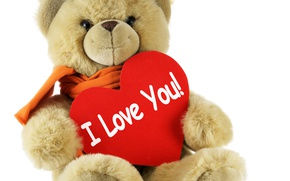 Picture love, toy, heart, bear, bear, Valentines Day, Valentine's day, Teddy
