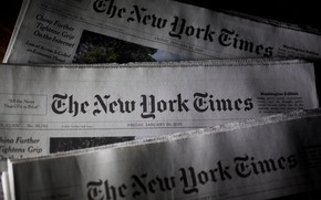 Picture USA, press, New York, The New York Times, American daily newspaper, New York times, journalism