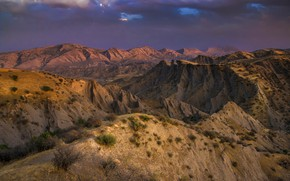 Wallpaper landscape, mountains, Iraq