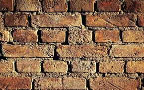 Picture wall, brick, texture units