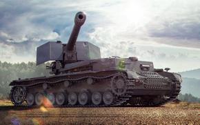 Picture World of Tanks, Waffenträger auf Pz. IV, German tank destroyers