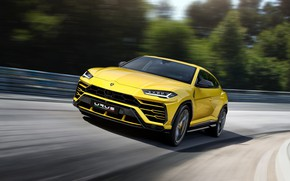 Wallpaper 2018, Urus, Lamborghini, speed