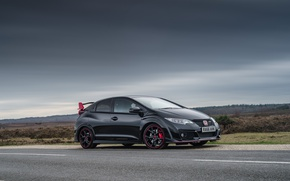 Picture Honda, Black, Civic, Edition, Type