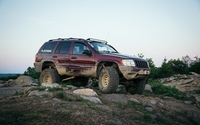 Wallpaper Jeep, Jeep Grand Cherokee, SUV, Grand Cherokee