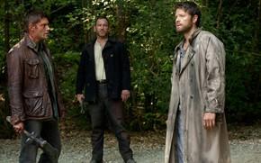 Picture angel, the demon, Dean, Supernatural, Supernatural, Cass, purgatory