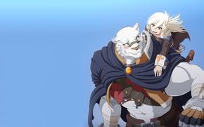 Picture tiger, anime, strong, mercenary, novel, light novel, Albus, Zero Kara Hajimeru Mahou No Sho, Grimoire …