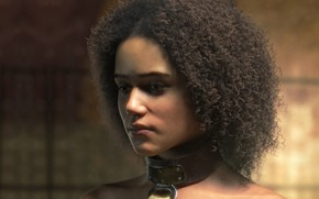Wallpaper Missandei, the game, girl, art, warrior, Game of Thrones