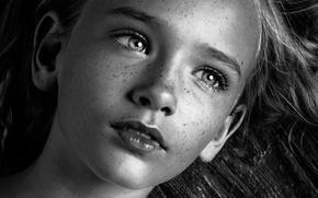 Picture macro, portrait, girl, freckles, h\b, Megan Bloxham