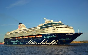 Picture Sea, Liner, The ship, Passenger, Passenger liner, My, TUI Cruises, Royal Caribbean Cruises, TUI, Ship, …