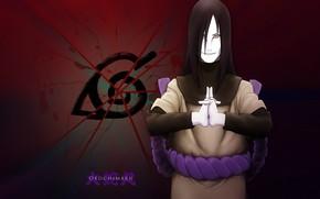 Picture fragments, Naruto, grin, snake eyes, ninja, Orochimaru, Naruto Shippuden, Naruto shippuuden, renegade, the emblem of …