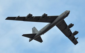 Picture Boeing, strategic bomber, STRATO fortress, B-52H