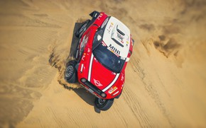 Picture Sand, Red, Mini, Sport, Desert, Speed, Rally, Dakar, Dakar, Rally, Dune, Buggy, Buggy, X-Raid Team, …