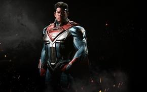 Picture game, armor, Superman, Clark Kent, Kal-El, NetherRealm Studios, kryptonian, Injustice 2